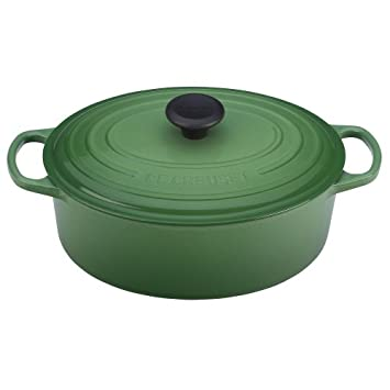 Le Creuset Signature Enameled Cast-Iron 6-3/4-Quart Oval French (Dutch) Oven, Marseille
