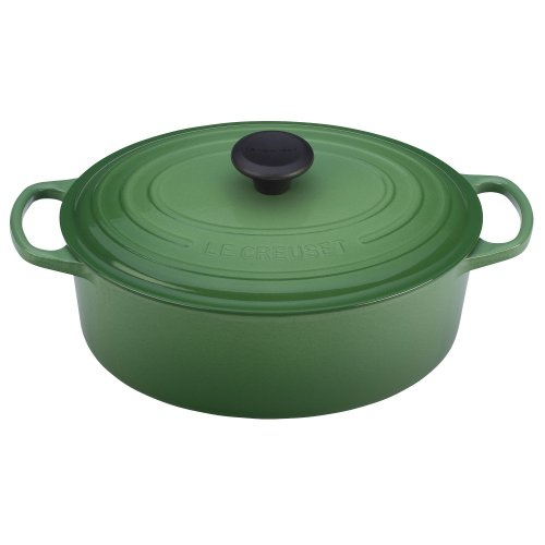 le creuset signature enameled cast iron 6 3 4 quart oval french dutch oven marseille 5ive. Black Bedroom Furniture Sets. Home Design Ideas