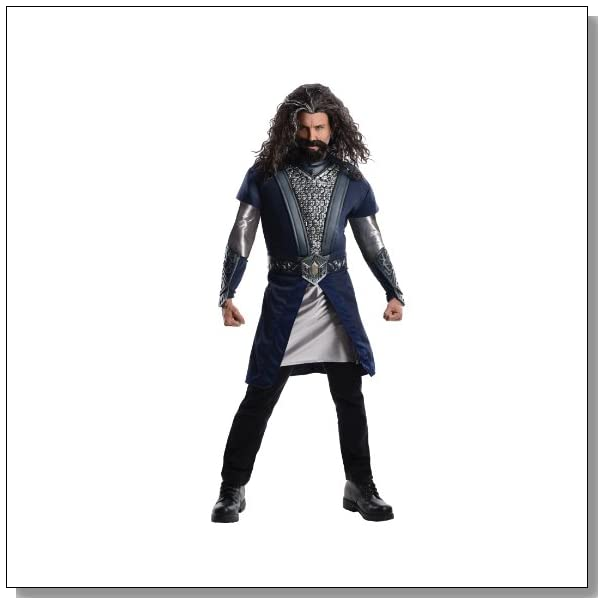 Rubie's Costume The Hobbit Deluxe Thorin, Multicolor, Adult One Size Costume