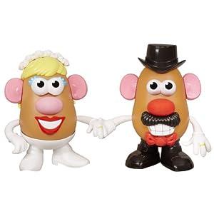 Mr. and Mrs. Potato Head 60th Anniversary Mashly in Love Set