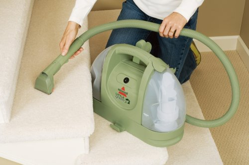 BISSELL 1400B Multi-Purpose Portable Carpet Cleaner, Green