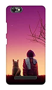 SWAG my CASE PRINTED BACK COVER FOR LENOVO VIBE C A2020 Multicolor