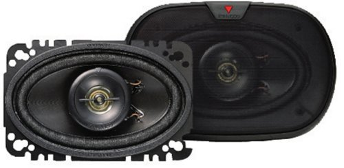 Kenwood Kfc-4675C 60-Watt 4-Inch X 6-Inch Two-Way Speaker System