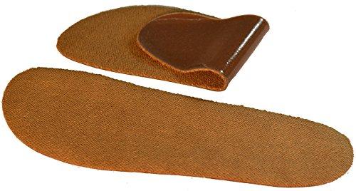 SoxsolS Washable Shoe Inserts Cotton Cork(Brown) 9W 7.5M (Cork Shoe Inserts compare prices)