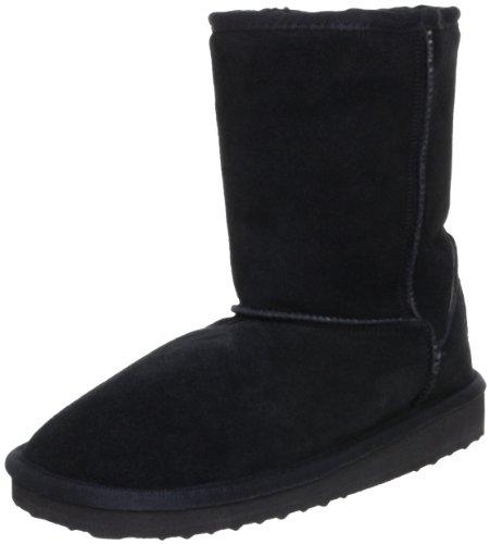 Hey Dude Alpe Women Suede Winter Boots with Synthetic Fleece Black EU36