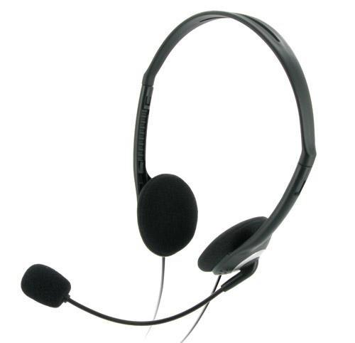 CSL - Headset Gamer Komfort Kopfhörer, Mikrofon mit Popschutz
