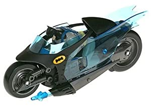 Amazon.com: Batman Animated Figure and Vehicle: Batcycle: Toys & Games