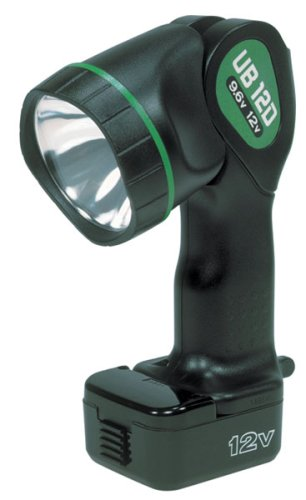 Hitachi UB12D Torch 9.6-Volt to 12-Volt Pivoting Head Flashlight