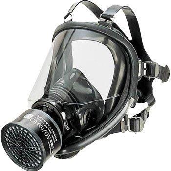 シゲマツ 直結式防毒マスク中濃度タイプ GM164