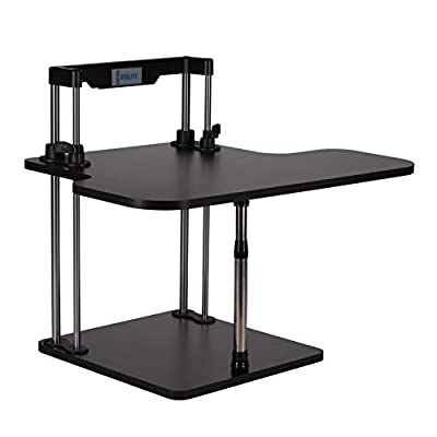 Best Standing Desk, Adjustable Height for Amazing Health Benefits, Easy Assembly to Stand Up or Sit Down, Perfect for a Laptop or Computer Monitor, Experience the Vertical Vitality Difference Today!