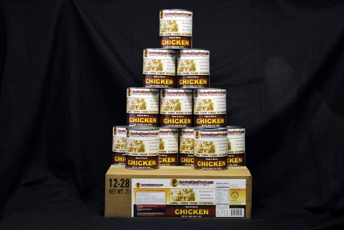 1 Case-Canned Meat (CHICKEN) Long Term Food Storage