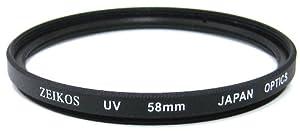 Zeikos ZE-UV58 58mm Multi-Coated UV Filter