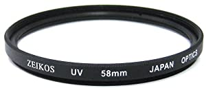 Zeikos ZE-UV58 58mm Multi-Coated UV Filter