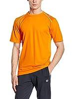 Wilson Camiseta Manga Corta M Nvision Elite (Naranja)
