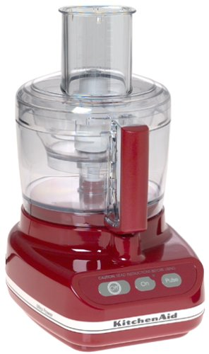 Review: KitchenAid KFP600 11-Cup Ultra Power Food Processor, Empire Red  Review