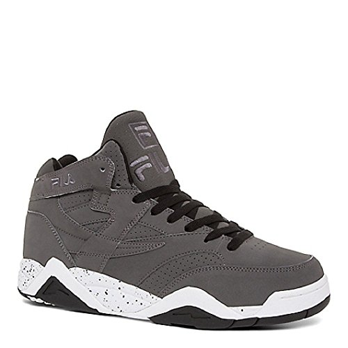 Fila Men's M Squad Fashion Sneaker, Castle Rock/Black/White, 9.5 M US