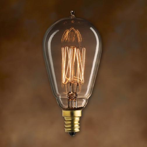 Bulbrite Nos25st15 E12 25 Watt Nostalgic Edison St15