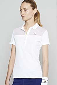 Short Sleeve Mesh Yoke Polo
