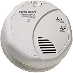 First Alert Sco7cn Battery Operated Combination Smoke/carbon Monoxide Alarm With Voice Location by Leadoff