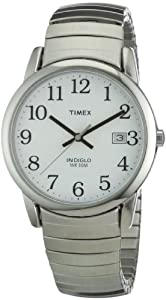 Timex Mens Classic Stainless Steel Expandable Watch - T2H451