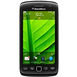 Blackberry Torch 9860 Unlocked Phone with 4GB Internal Memory, Blackberry OS 7, 3G and 5MP Camera - International Version (Black)