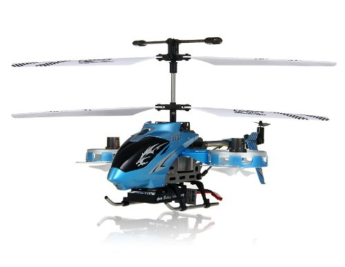 Avatar F163 Wireless 4-Channel RC Helicopter with Gyroscope (Blue) + Worldwide free shiping