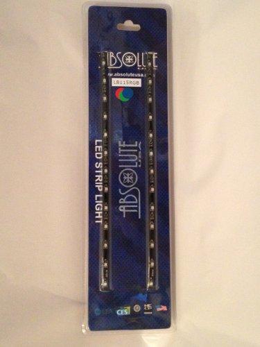 Absolute Usa Rgb Led Strip Lights Waterproof 2X 30Cm