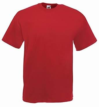 Valueweight T-Shirt von Fruit of the Loom S M L XL XXL XXXL verschiedene Farben 3XL,graumeliert 3XL,Graumeliert