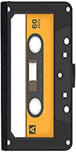 Snoogg Casette Tape Graphic Snap On Hard Back Leather + Pc Flip Cover Samsung...