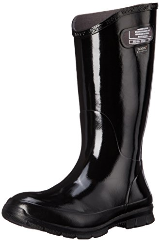 Bogs Women's Berkley Rain Boot, Black, 8 M US (Bogs Rain Boots Women compare prices)