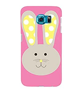 Meow Cat Girly 3D Hard Polycarbonate Designer Back Case Cover for Samsung Galaxy S6 Edge :: Samsung Galaxy Edge G925