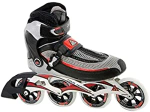 K2 Radical 100 men's In-Line Skates (Black, Size - 9)