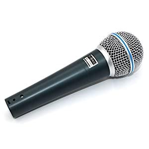 Weymic® New W500 Cardioid Mic Professional Dynamic Vocal Classic Style Microphone Metal Body