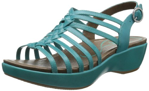 Dansko Women'S Dana Dress Sandal,Turquoise,39 Eu/8.5-9 M Us front-586562