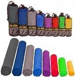 Mikrofaser Handtücher in ALLEN Größen / 12 Farben -...