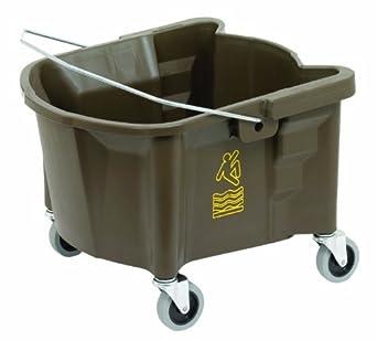 Continental 226-3BZ Bronze 26 Quart Splash Guard Mop Bucket