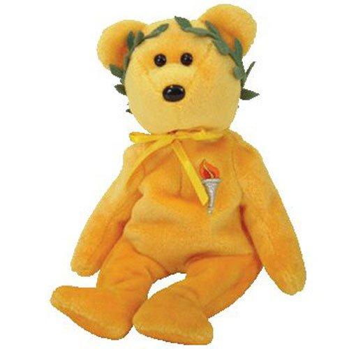 1 X Ty Beanie Babies Victory the Olympics Bear