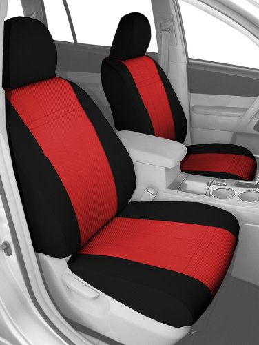 CalTrend Front Row Bucket Custom Fit Seat Cover for Select
