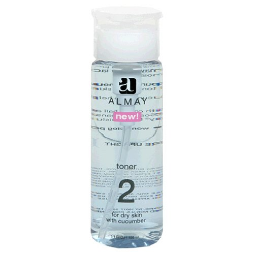 Almay Toner 2, for Dry Skin with Cucumber, 5.1-Ounce bottles
