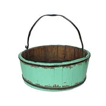 Antique Revival Vintage Clovis Bucket, Turquoise