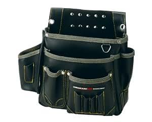 ネクサス 棟梁型釘袋 墨ツボ差付 NX-805B  ブラック