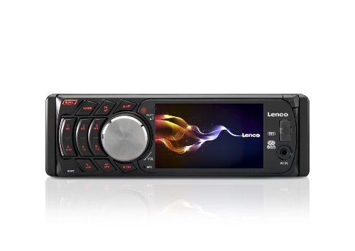 Lenco-CS-440-BT-Auto-Radio-89-cm-35-Zoll-TFT-Display-Bluetooth-RDS-MP3MP4-4x-40-Watt-USB-schwarz