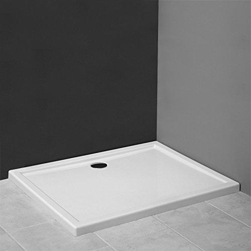 aquabad duschwanne duschtasse superflach rechteck. Black Bedroom Furniture Sets. Home Design Ideas