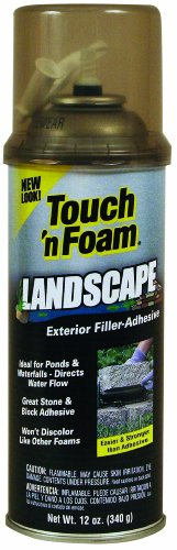 Touch 'n Foam 4001141212 Landscape Exterior Filler, Adhesive photo
