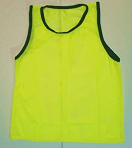 BlueDot Trading Youth High quality 12 Yellow sports pinnie- 12 High quality scrimmage... by Bluedot Trading