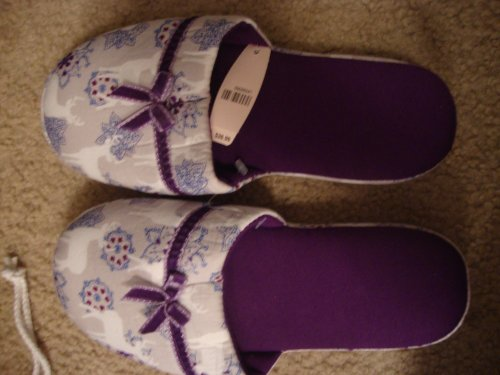 Cheap Victoria's Secret Animal Print Slippers Size Small (5-6) (B006JGSRN6)