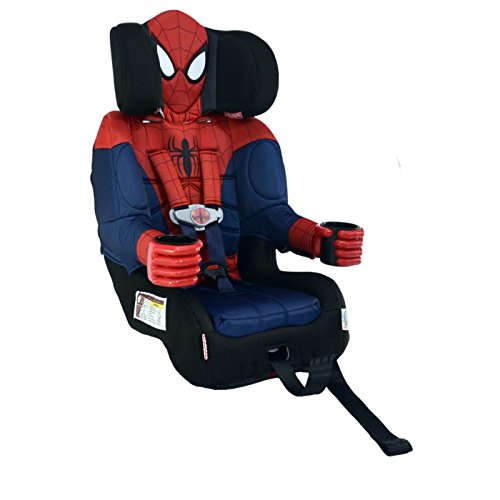 Great Features Of Kids Embrace Harness Booster Car Seat - Ultimate Spiderman