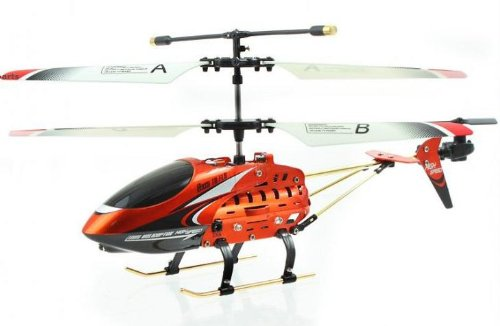 Viefly 688 JXD Metal Series 339 3CH RC Helicopter RTF w Gyro Colors Vary between Orange Gold