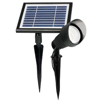 LED Solar Strahler Pflanzenstrahler Spot Solarstrahler Leuchte Gartenlampe Light