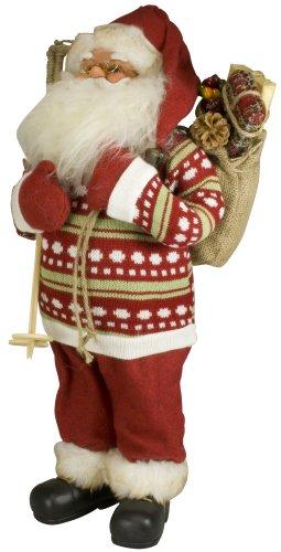 MONOPOL 33121 Weihnachtsmann 'Carl', 60 cm